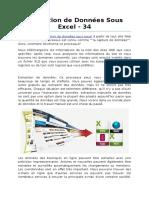 Extraction de Données Sous Excel - 34