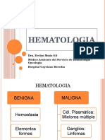 Clase de Hematología - EnAM 2015