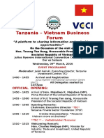 Tentative Programme TANVIET Business RoundTable 09March2016 Dar (1)