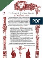 VII Concurso Proc. Infantiles -El Sudario 2010-