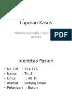 Hernia Inguinalis Ireponible