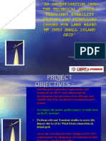 Rohan Seale Transient Stability Studies Presentation