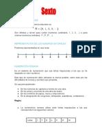 sintesis del primer período de matemáticas