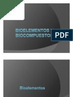 Bioelementos y biocompuestos