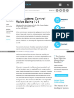 Valin Com Resources Articles Size Matters Control Valve