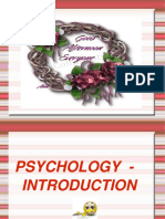 Psychology Intro