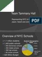 New York City Public School Reform 2002 to 2008