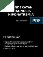 Pendekatan Diagnosis Hiponatremia
