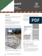 Sg Forklift Work Platforms