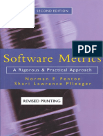 Software Metrics a Rigorous and Practical Approach