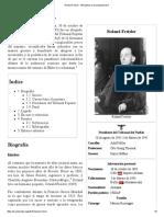 Roland Freisler - Wikipedia, La Enciclopedia Libre