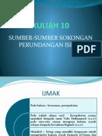 09 Sumber-Sumber Sokongan Perundangan Islam