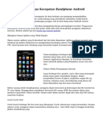 Tips Kiat Kembalikan Kecepatan Handphone Android