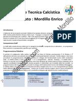 Esame Tecnica Calcistica Mordillo Enrico