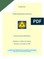 Conferencia Vicente Beltrán