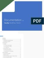 Faculty Documentation