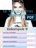 PPT Uji Toksisitas Khas Teratogenik Fix
