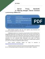 Membangun Server Proxy,Bandwith Limited,Content Filter Dengan Clarck Connect 5.0