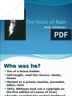 THE VOICE OF THE RAIN.ppt