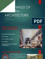 Modern ArchitectureGFF