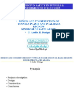 Design and Construction of Tunnels in Asir and in Al Baha Saudi Arabia