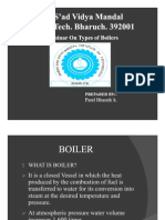 Types of Boilers