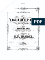 Lascia Ch%26#039;Io Pianga (Aria de Rinaldo HWV 7b, Acto Nº II) - Piano y Voz - Jesús Ángel Schroh-Hecker