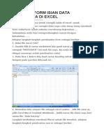 Membuat Form Isian Data Sederhana Di