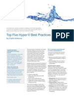 Top Five Hyper v Best Practices