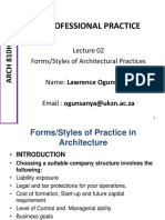 Forms of Practice
