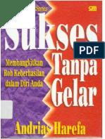 Andreas Harefa - Sukses Tanpa Gelar