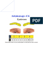 Eyebrows Template