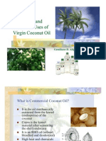 Medicinal and Nutraceutical Uses of Virgin Coconut Oil