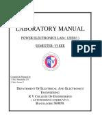 Pe Lab Manual 2016