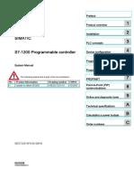 S7 1200 Manual