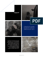 Crimes de Guerre Russes en Ukraine Orientale en 2014