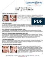 Operation Smile - Frequently Asked Questions About Cleft Lip and Cleft