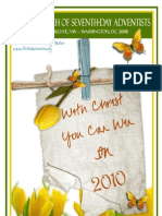 First Church of Seventh-day Spring Bulletin (2010)