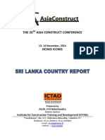 The 20th Asia Construct Conference Srilanaka Report