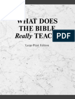 Watchtower:  What Does the Bible Really Teach -  Large Print - 2004