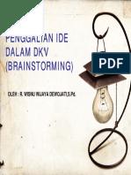 PENGGALIAN IDE DASAR DKV (Brain storming) & Typografi - Copy.pdf