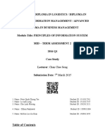 completed pis report