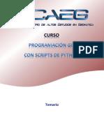 Temario GIS Scripts Febrero22