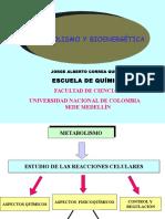 1. Introduc. Al Metabolismo y a La Bioenergética