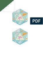 imagem icosaedro colagem