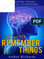 Guide to How to Remember Things