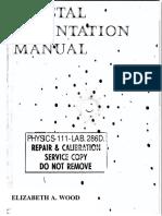 01-Crystal Orientation Manual
