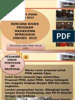 Pedoman Proposal PMW 2015