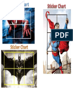 sticker chart-reinforcement activity pdf