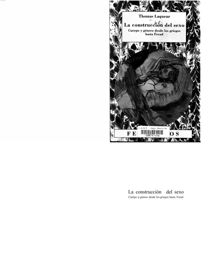 Thomas Lacqueur - La Construcción Del Sexo